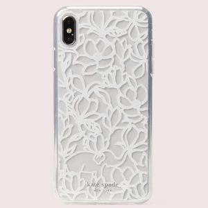 kate spade iPhone XS Max Scribble Flora Case